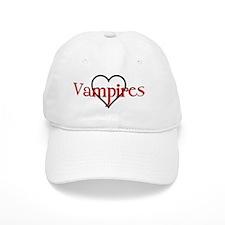I Love/Heart Vampires Baseball Cap