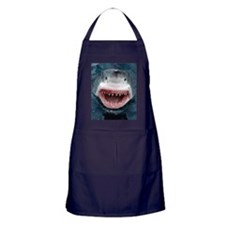 great white shark Apron (dark)
