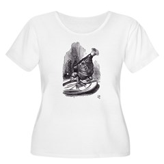 Leg of Mutton Women's Plus Size Scoop Neck T-Shirt