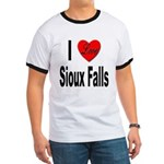 I Love Sioux Falls (Front) Ringer T