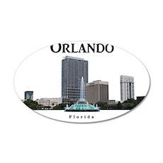 Orlando_Rect_LakeEolaFountai 35x21 Oval Wall Decal