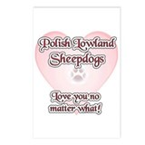 Lowland Love U Postcards (Package of 8)