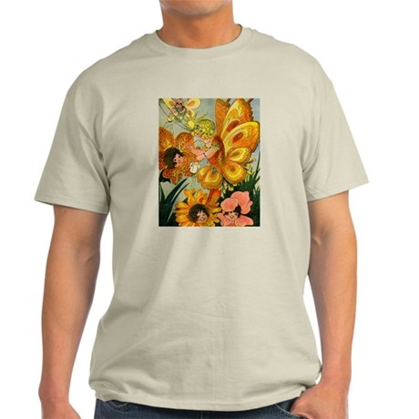 Flower Folk Natural T-Shirt