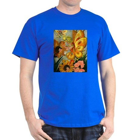 Flower Folk Royal T-Shirt