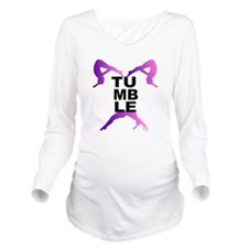 Tumbling girls Long Sleeve Maternity T-Shirt
