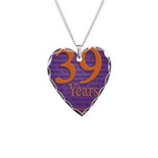 39 Year Recovery Birthday Necklace