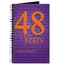 48 Year Recovery Birthday Journal