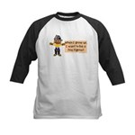 Firefighter 1 Kids Baseball Jersey