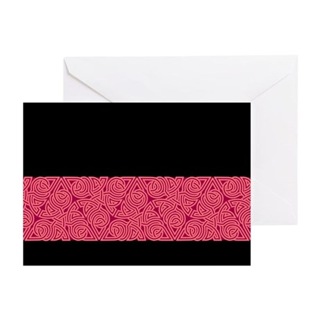 Pink Triangle Knot Greeting Cards (Pk of 10)