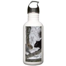 Black Squirrel Water Bottle