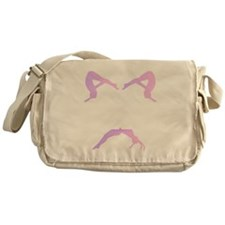 TUMBLE WHITE Messenger Bag