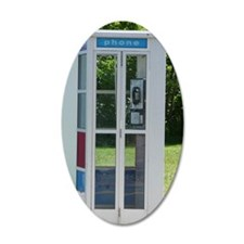 Phone Booth Wall Decal