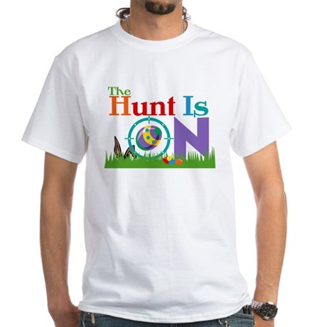 The Hunt Is On White T-Shirt