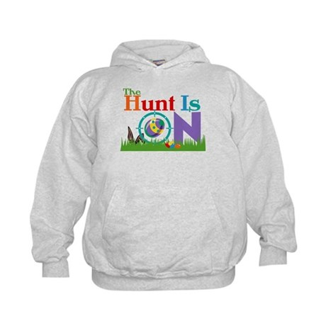 The Hunt Is On Kids Hoodie