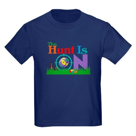 The Hunt Is On Kids Dark T-Shirt