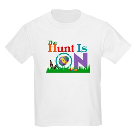 The Hunt Is On Kids Light T-Shirt
