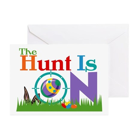 The Hunt Is On Greeting Cards (Pk of 10)
