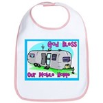 God Bless our Mobile Home Bib