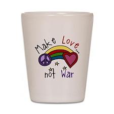 Make Love Shot Glass