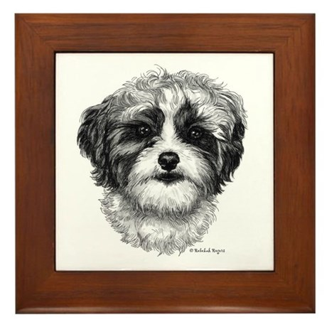 Shih-Poo Framed Tile