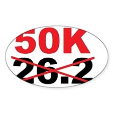 Beyond the Marathon - 50 Kilometer  Decal