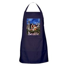 Seattle Skyline Apron (dark)