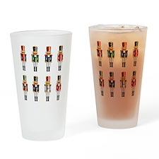 Nutcrackers Drinking Glass