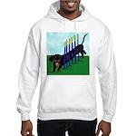 An Agility Dachshund? Hooded Sweatshirt