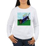 An Agility Dachshund? Women's Long Sleeve T-Shirt