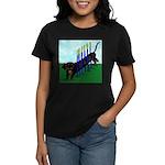 An Agility Dachshund? Women's Dark T-Shirt