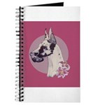 A lovely Harlequin Great Dane Journal