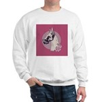 A lovely Harlequin Great Dane Sweatshirt