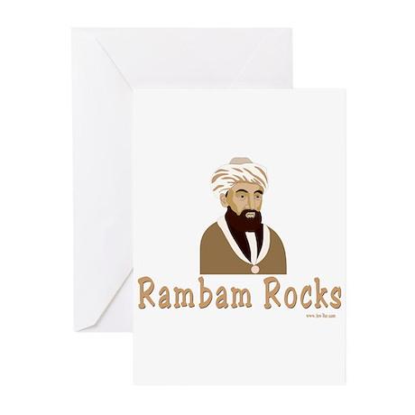 The Rambam Rocks Greeting Cards (Pk of 10)