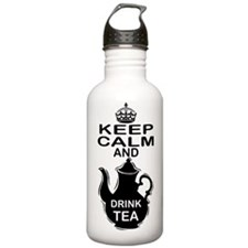 Keep calm and Drink Te Water Bottle