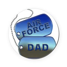 Air Force Dad - Father Dog Tag Cork Coaster