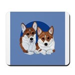 A Corgi Couple Mousepad