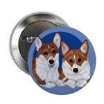 A Corgi Couple Button