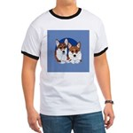 A Corgi Couple Ringer T