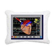 Cardiac Pillow CP Rectangular Canvas Pillow
