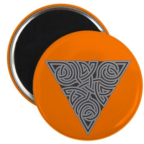"Charcoal Triangle Knot 2.25"" Magnet (10 pack)"