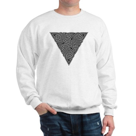 Charcoal Triangle Knot Sweatshirt