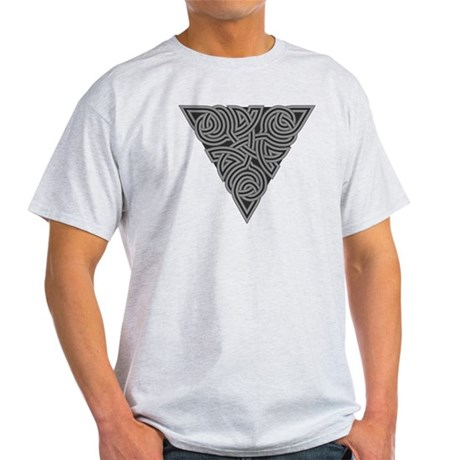 Charcoal Triangle Knot Light T-Shirt
