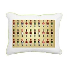 Nutcracker Trays Rectangular Canvas Pillow