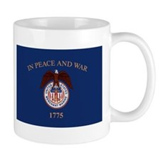 US Merchant Marine Flag Mug