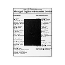 Boston-English Dictionary Picture Frame