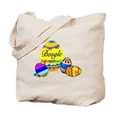 Easter Beagle Tote Bag