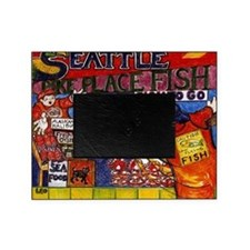 Seattle Fish Market Picture Frame