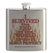I SURVIED THE END OF THE WORLD Flask