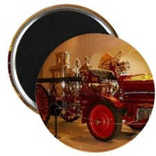 1904 Steam Fire Truck Magnet
