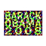 Barack Obama in Color Mini Poster Print
